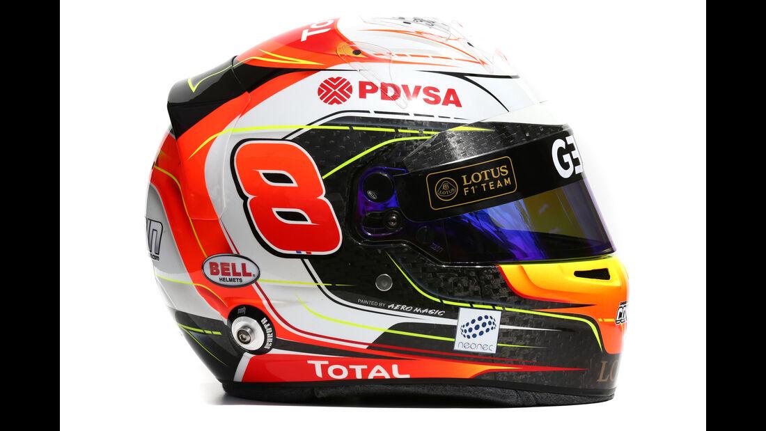 Romain Grosjean - Helm - 2015