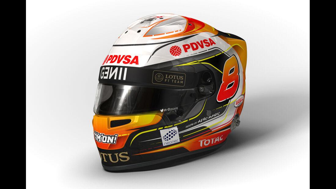 Romain Grosjean - Helm  - Formel 1 - 2015