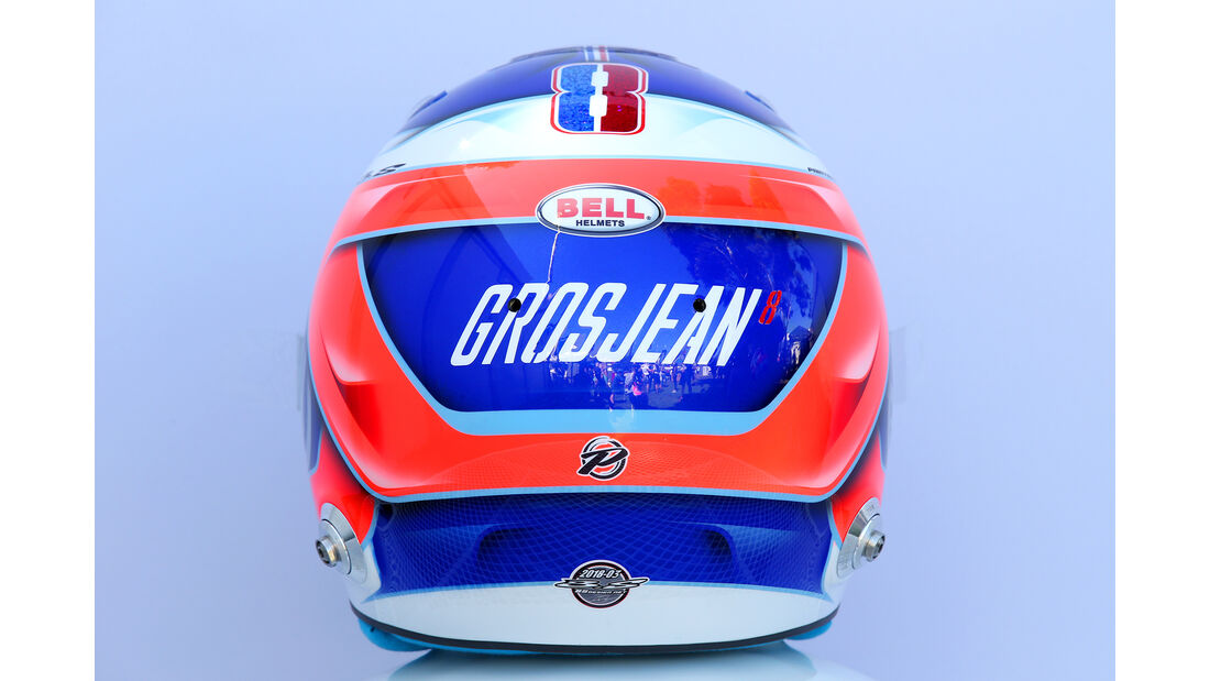 Romain Grosjean - Helm - Formel 1 - 2018