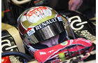 Romain Grosjean Helm GP Monaco 2012