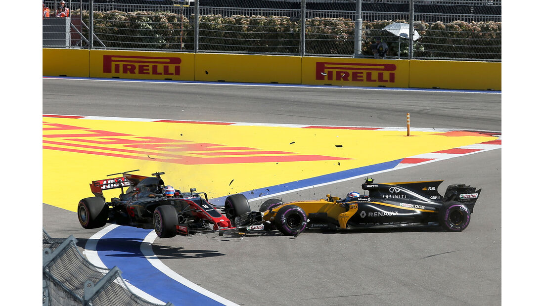 Romain Grosjean & Jolyon Palmer - GP Russland 2017