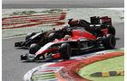 Romain Grosjean - Jules Bianchi  - Formel 1 - GP Italien - 7. September 2014