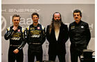 Romain Grosjean, Kevin Magnussen, Guenther Steiner & William Storey -  Haas F1 - Formel 1 - 2019
