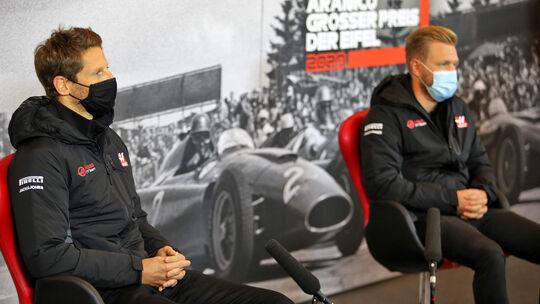 Romain Grosjean - Kevin Magnussen - Haas - GP Eifel 2020 - Nürburgring