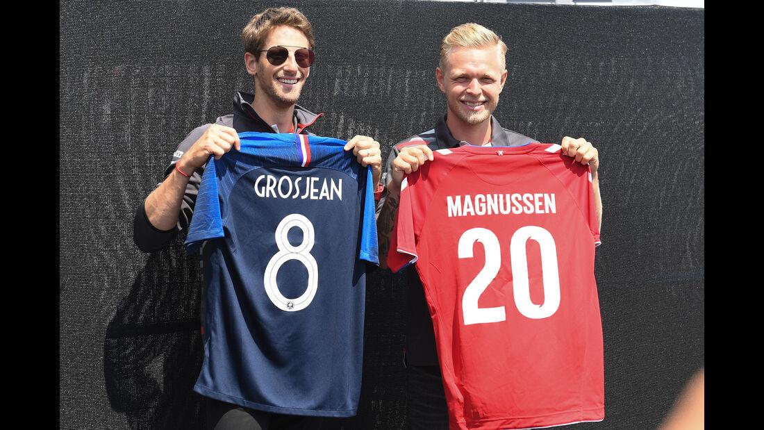 Romain Grosjean & Kevin Magnussen - HaasF1 - Formel 1 - GP Kanada - Montreal - 7. Juni 2018