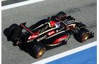 Romain Grosjean - Lotus - Formel 1 - Bahrain - Test - 2. März 2014