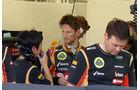 Romain Grosjean - Lotus - Formel 1 - Bahrain - Test - 20. Februar 2014