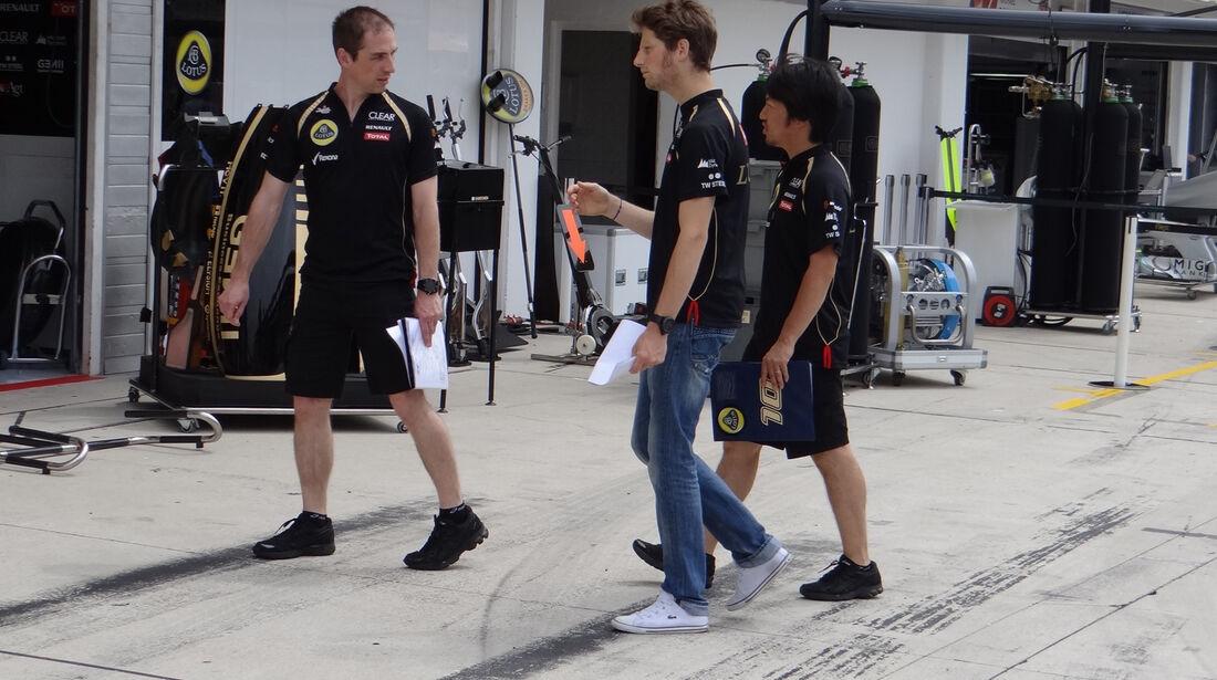 Romain Grosjean - Lotus - Formel 1 - Budapest - GP Ungarn - 26. Juli 2012