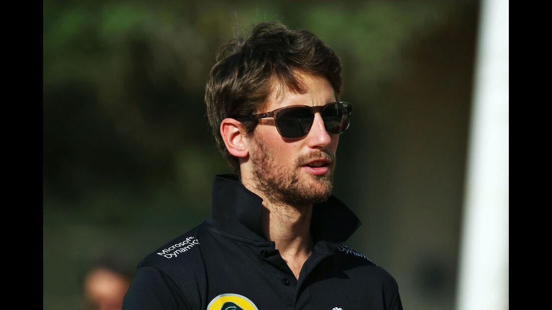 Romain Grosjean - Lotus - Formel 1 - GP Abu Dhabi - 26. November 2015