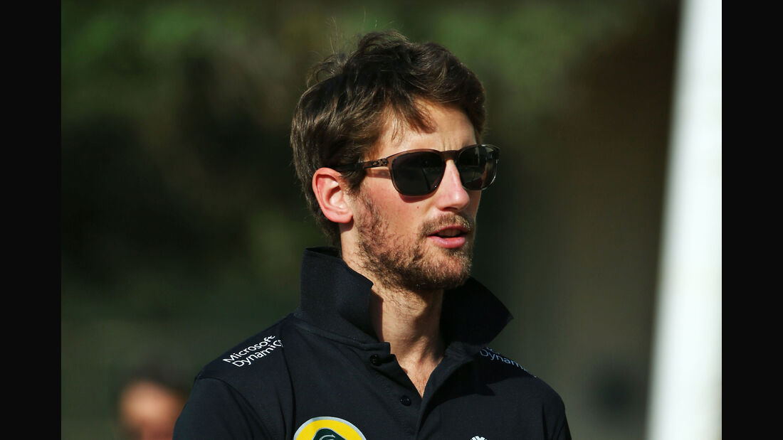 Romain Grosjean - Lotus - Formel 1 - GP Abu Dhabi - 26. November 2015