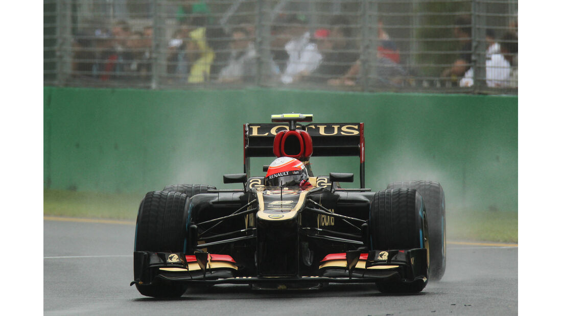 Romain Grosjean - Lotus - Formel 1 - GP Australien - 16. März 2013
