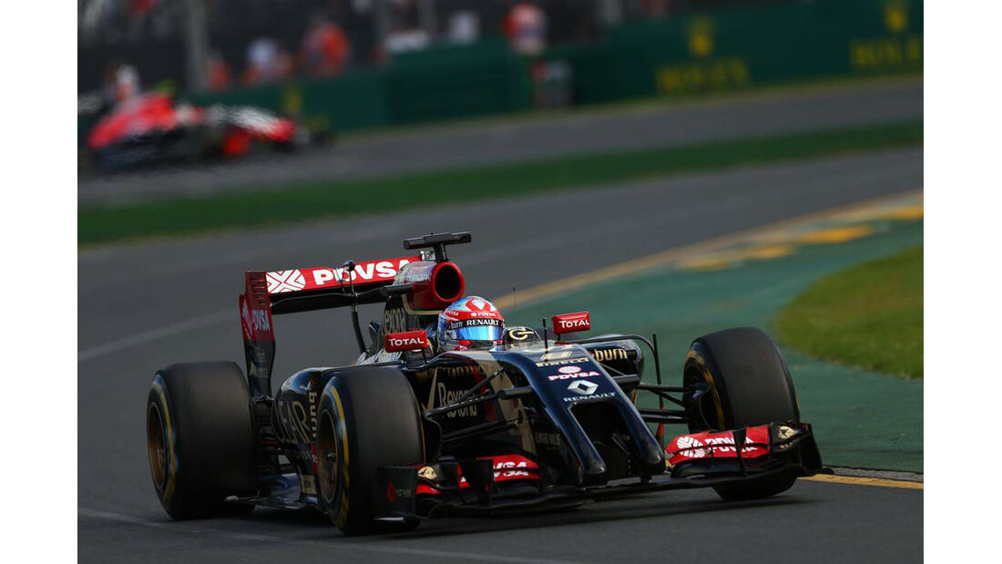 Romain Grosjean - Lotus - Formel 1 - GP Australien - 16. März 2014
