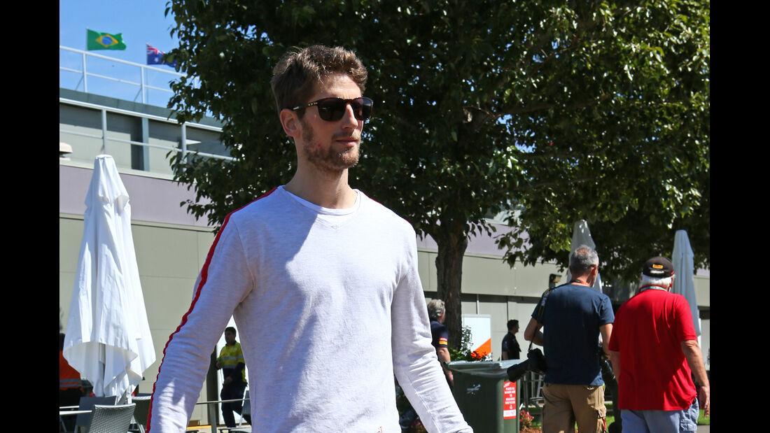Romain Grosjean - Lotus - Formel 1 - GP Australien - Melbourne - 11. März 2015