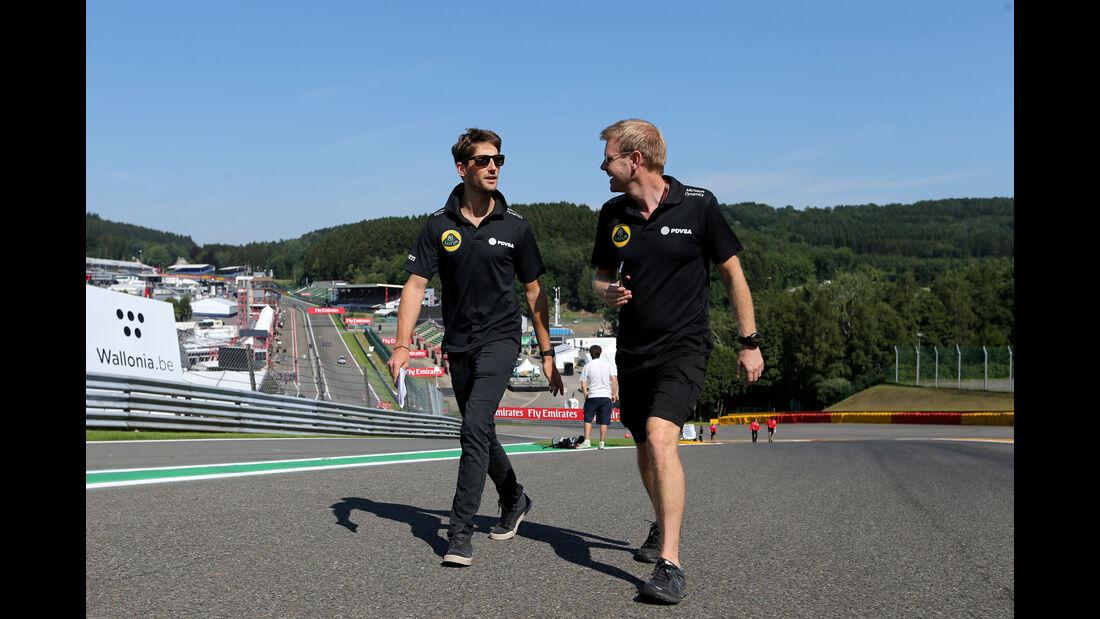 Romain Grosjean - Lotus - Formel 1 - GP Belgien - Spa-Francorchamps - 20. August 2015