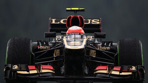 Romain Grosjean - Lotus - Formel 1 - GP Belgien - Spa Francorchamps - 23. August 2013