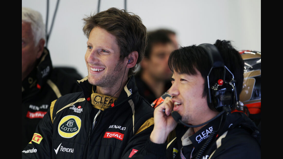 Romain Grosjean - Lotus - Formel 1 - GP Belgien - Spa-Francorchamps - 31. August 2012