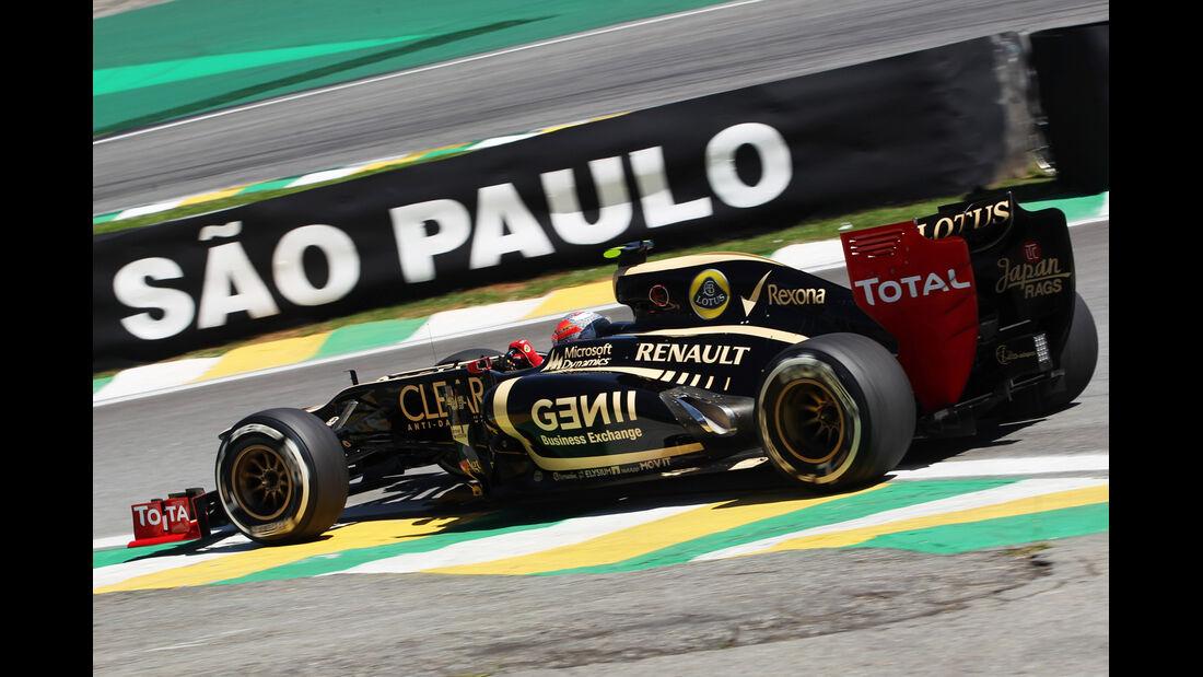 Romain Grosjean - Lotus - Formel 1 - GP Brasilien - Sao Paulo - 23. November 2012