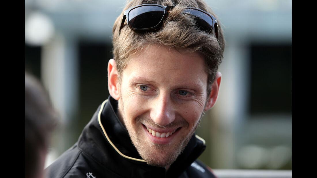 Romain Grosjean - Lotus - Formel 1 - GP China - Shanghai - 11. April 2015
