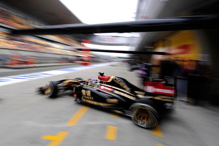 Romain Grosjean - Lotus - Formel 1 - GP China - Shanghai - 18. April 2014