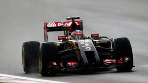 Romain Grosjean - Lotus - Formel 1 - GP China - Shanghai - 19. April 2014