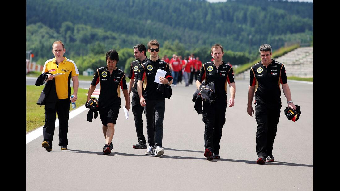 Romain Grosjean - Lotus - Formel 1 - GP Deutschland - 4. Juli 2013