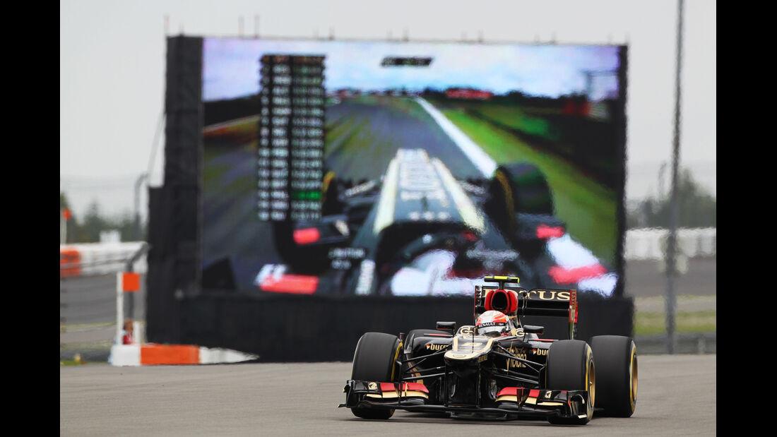 Romain Grosjean - Lotus - Formel 1 - GP Deutschland - 5. Juli 2013
