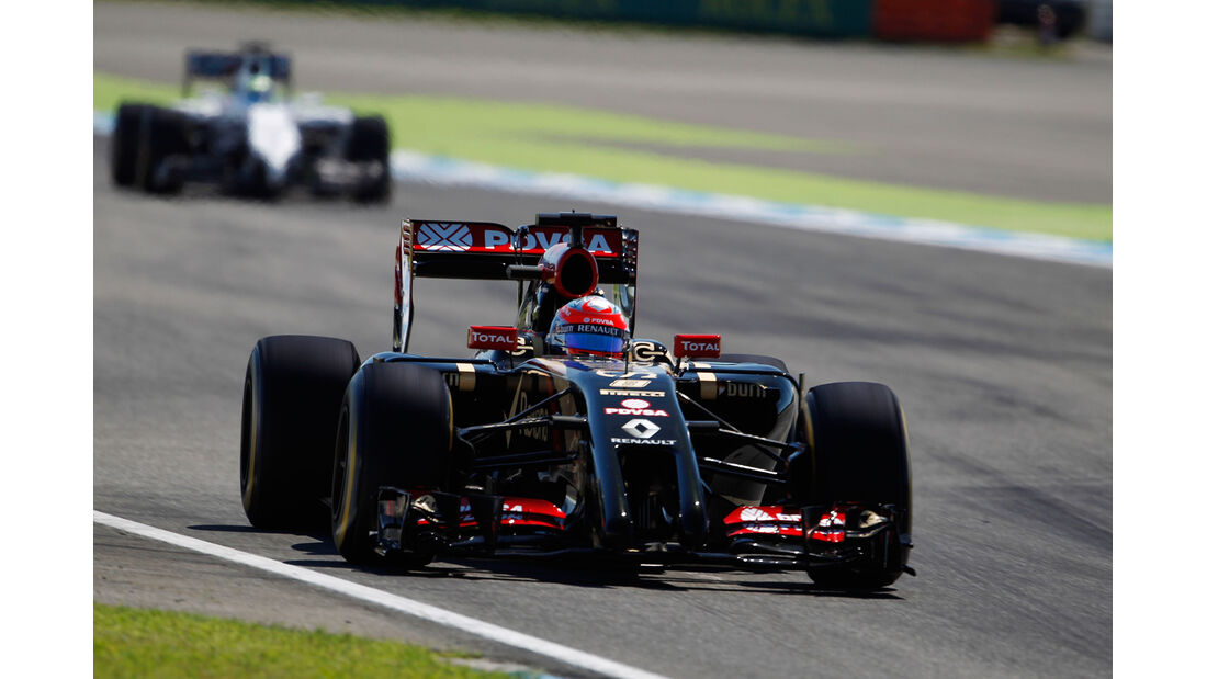 Romain Grosjean - Lotus - Formel 1 - GP Deutschland - Hockenheim - 18. Juli 2014