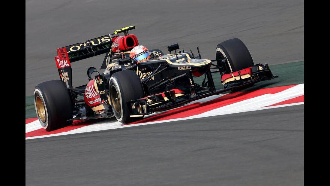Romain Grosjean - Lotus  - Formel 1 - GP Indien - 25. Oktober 2013