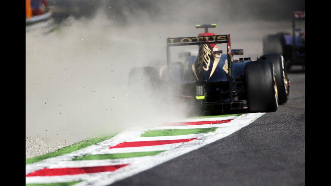 Romain Grosjean - Lotus - Formel 1 - GP Italien - 6. September 2013