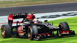 Romain Grosjean - Lotus - Formel 1 - GP Japan - 12. Oktober 2013