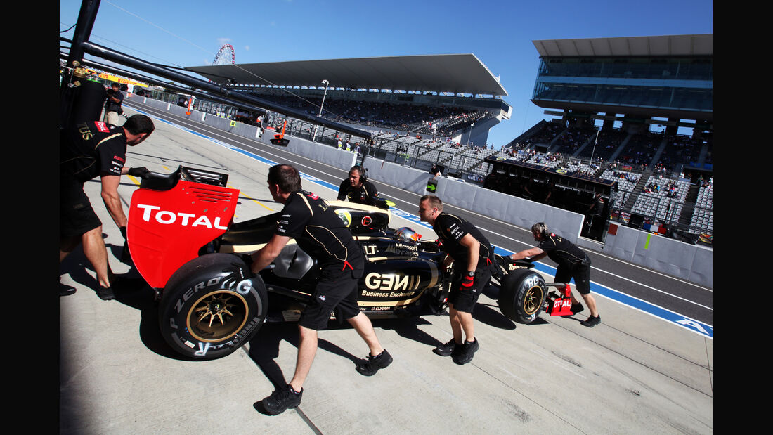 Romain Grosjean - Lotus - Formel 1 - GP Japan - Suzuka - 5. Oktober 2012