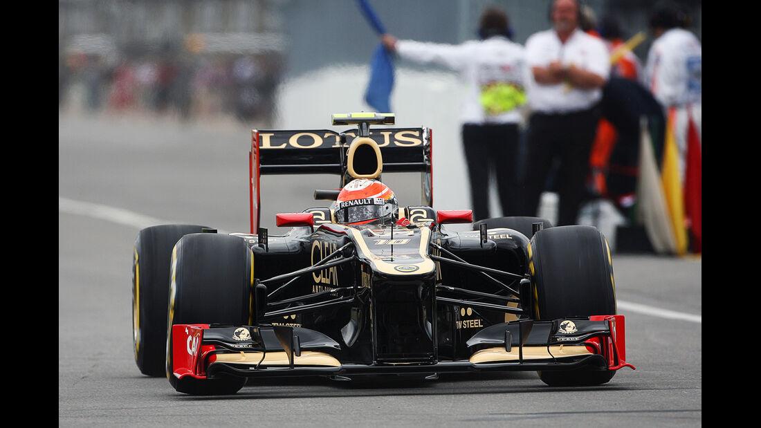 Romain Grosjean - Lotus - Formel 1 - GP Kanada 2012 - 8. Juni 2012