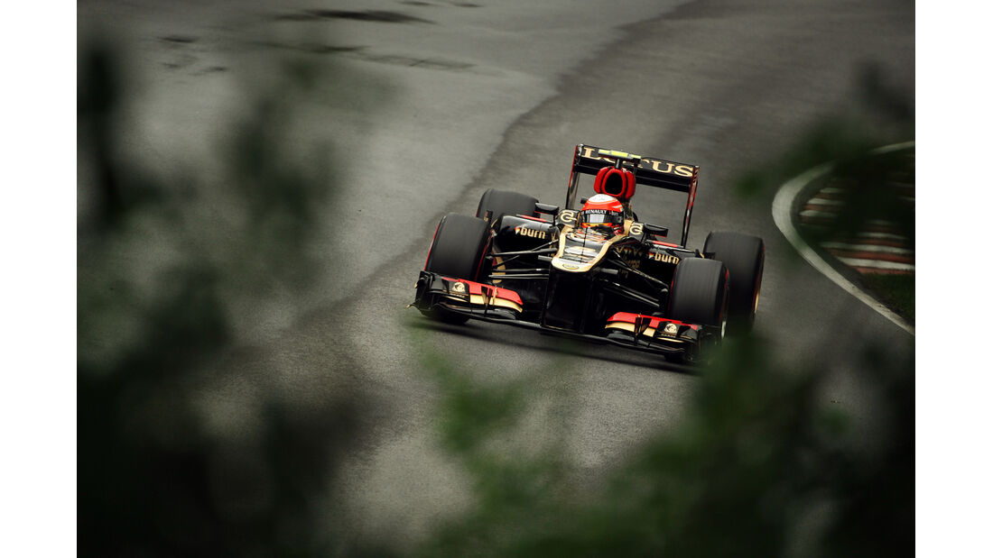 Romain Grosjean - Lotus - Formel 1 - GP Kanada - 8. Juni 2013