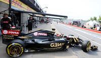 Romain Grosjean - Lotus - Formel 1 - GP Kanada - Montreal - 5. Juni 2015