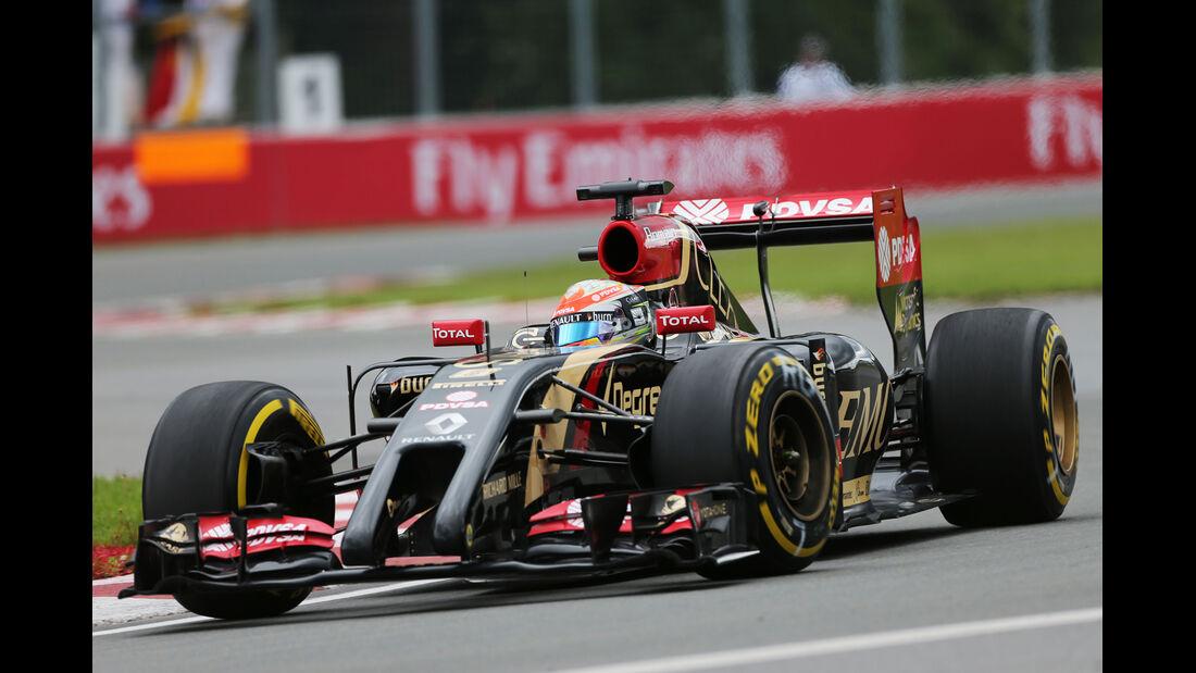Romain Grosjean - Lotus - Formel 1 - GP Kanada - Montreal - 6. Juni 2014