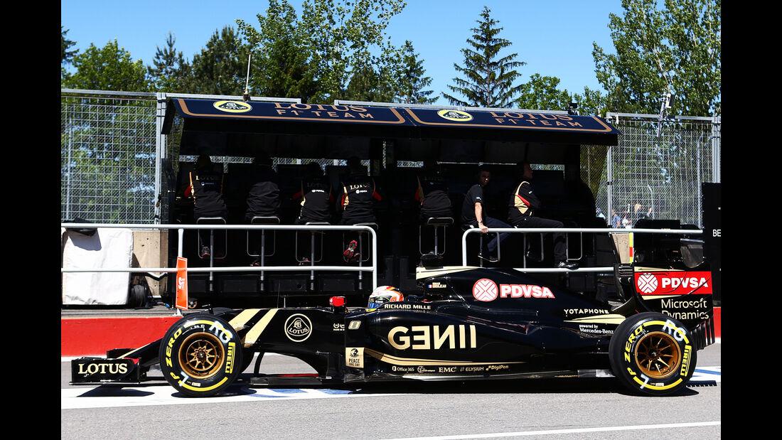 Romain Grosjean - Lotus - Formel 1 - GP Kanada - Montreal - 6. Juni 2015