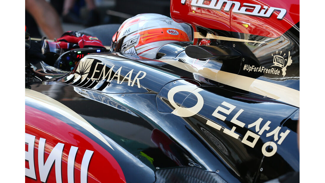 Romain Grosjean - Lotus - Formel 1 - GP Korea - 5. Oktober 2013