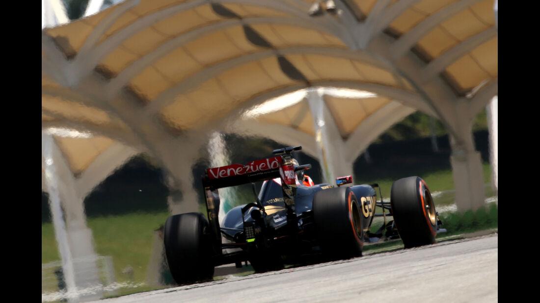 Romain Grosjean - Lotus - Formel 1 - GP Malaysia - 28. März 2015