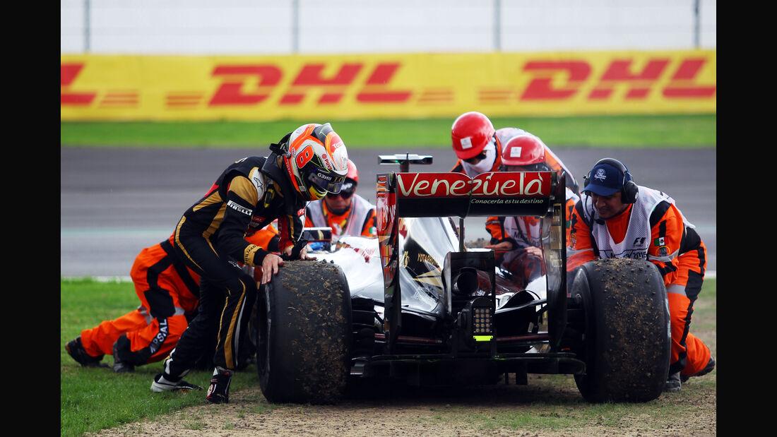 Romain Grosjean - Lotus - Formel 1 - GP Mexiko - 30. Oktober 2015