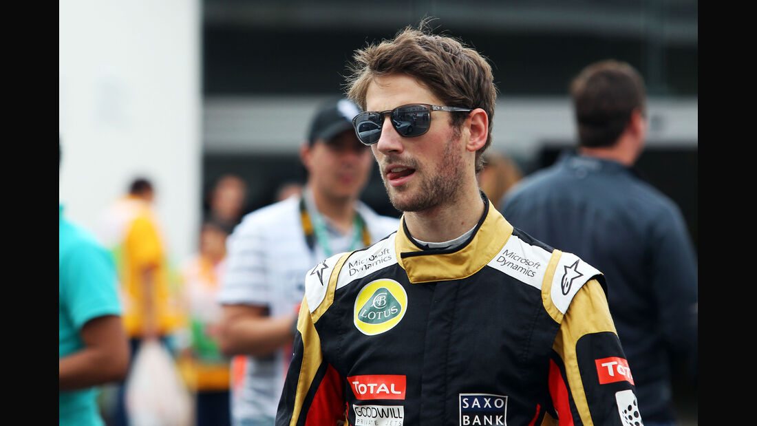 Romain Grosjean - Lotus - Formel 1 - GP Mexiko - 31. Oktober 2015