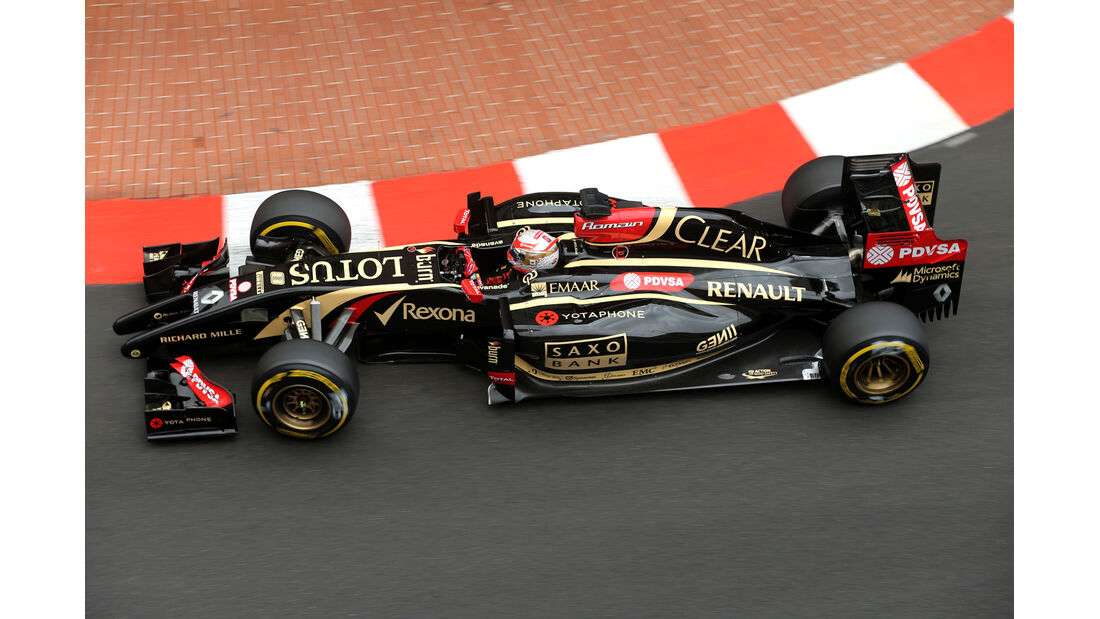 Romain Grosjean - Lotus - Formel 1 - GP Monaco - 22. Mai 2014