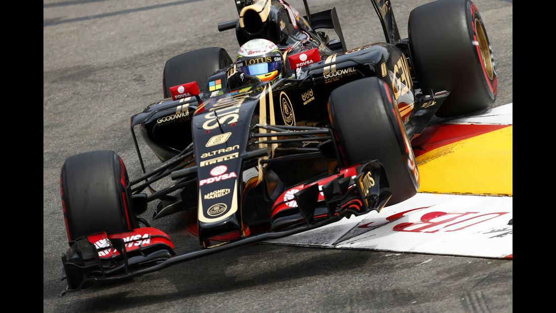 Romain Grosjean - Lotus - Formel 1 - GP Monaco - Samstag - 23. Mai 2015