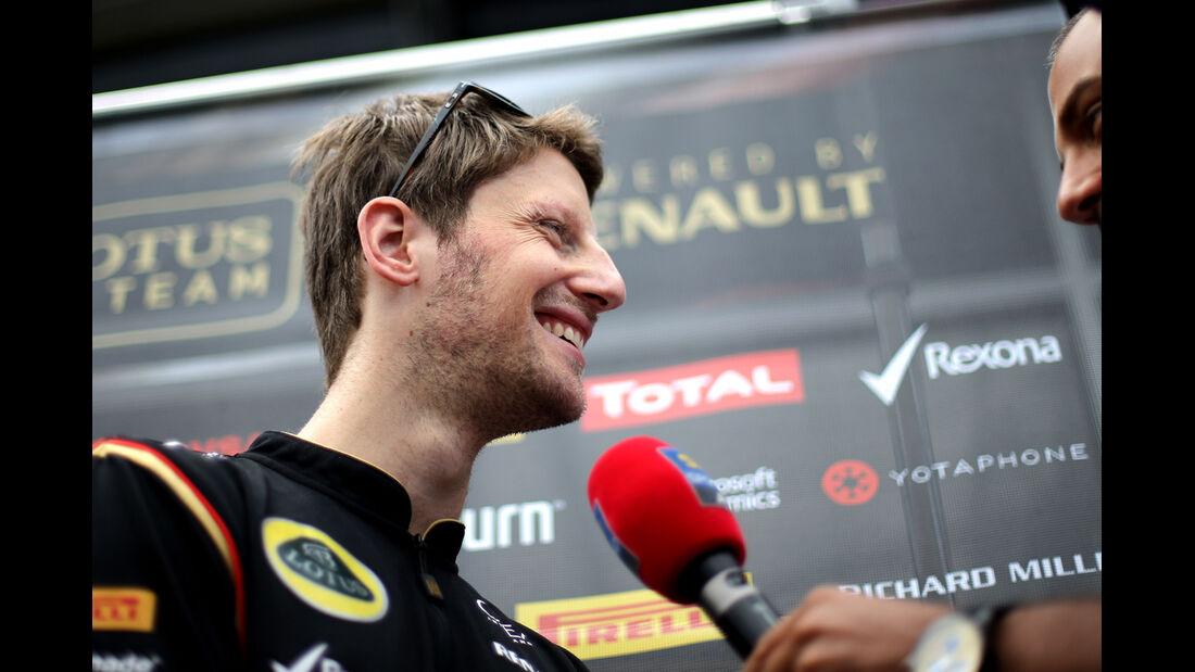 Romain Grosjean - Lotus - Formel 1 - GP Österreich - Spielberg - 19. Juni 2014