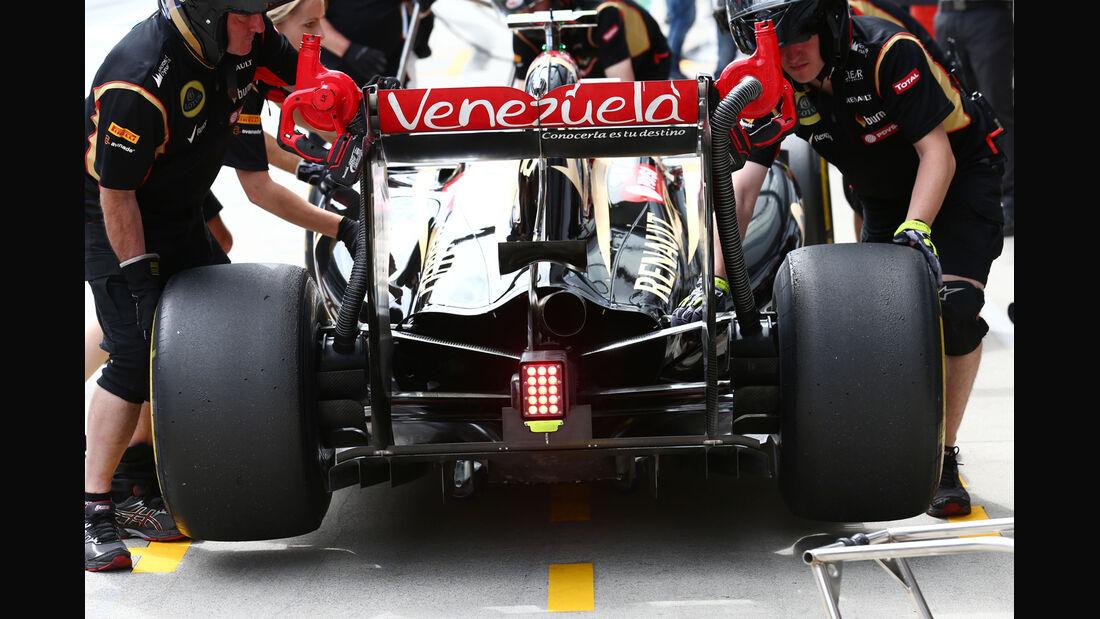 Romain Grosjean - Lotus - Formel 1 - GP Österreich - Spielberg - 20. Juni 2014