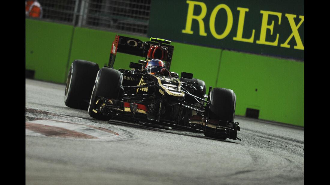 Romain Grosjean - Lotus - Formel 1 - GP Singapur - 20. September 2013