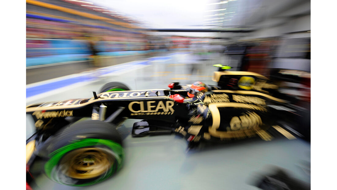 Romain Grosjean - Lotus - Formel 1 - GP Singapur - 21. September 2012