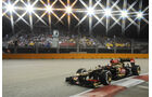 Romain Grosjean - Lotus - Formel 1 - GP Singapur - 21. September 2013