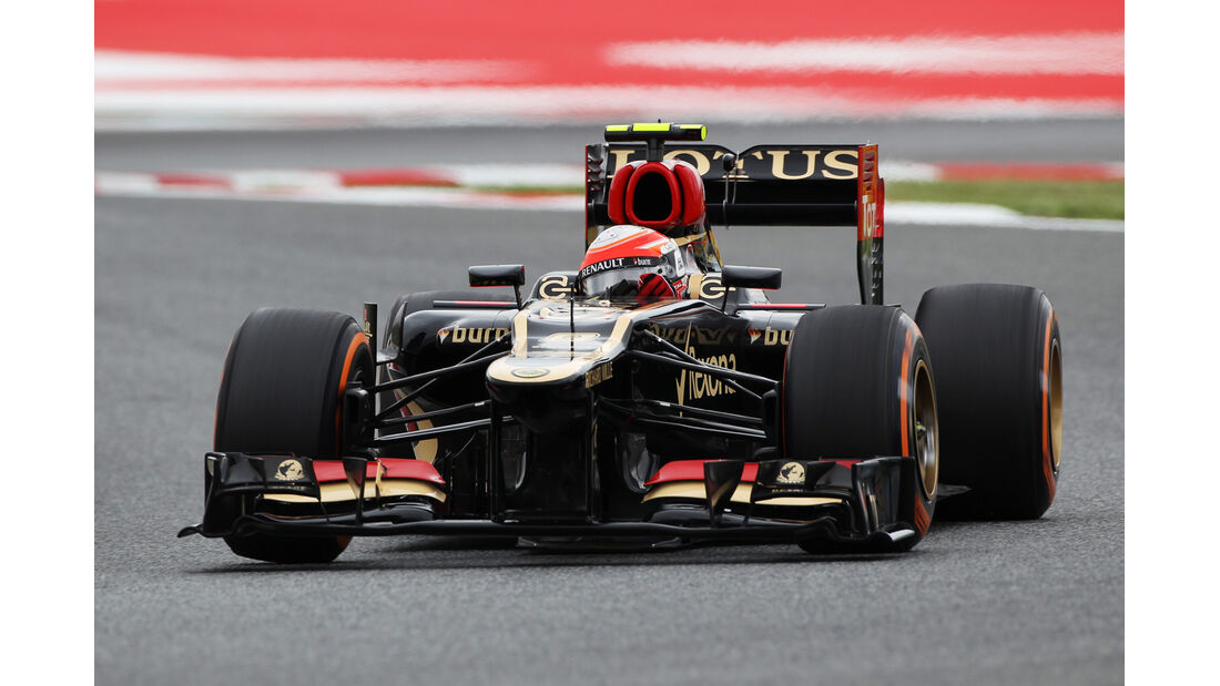 Romain Grosjean - Lotus - Formel 1 - GP Spanien - 10. Mai 2013