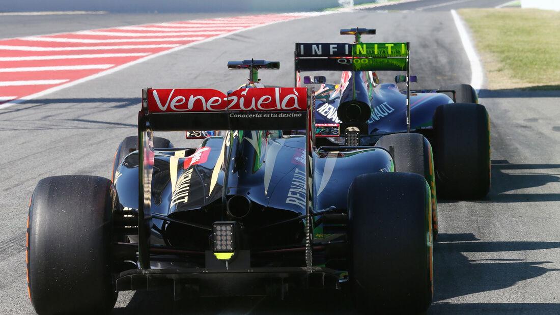 Romain Grosjean - Lotus - Formel 1 - GP Spanien - Barcelona - 9. Mai 2014