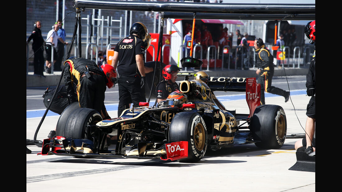 Romain Grosjean - Lotus - Formel 1 - GP USA - Austin - 17. November 2012